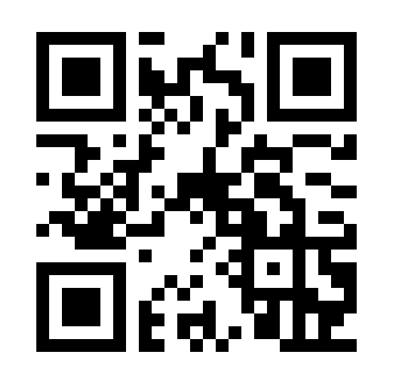 Example QR code pointing to StoreVroom website
